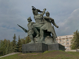 Памятник героям Октябрьской революции и Гражданской войны
