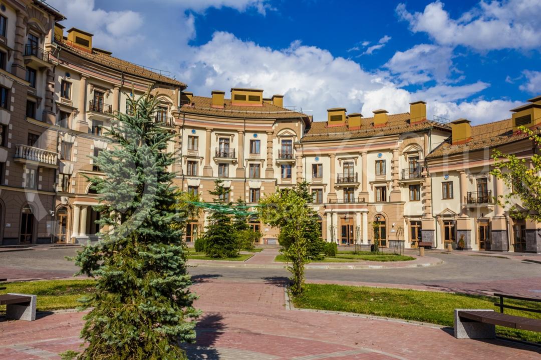 Фасад Горки Город, апартаменты, Красная поляна