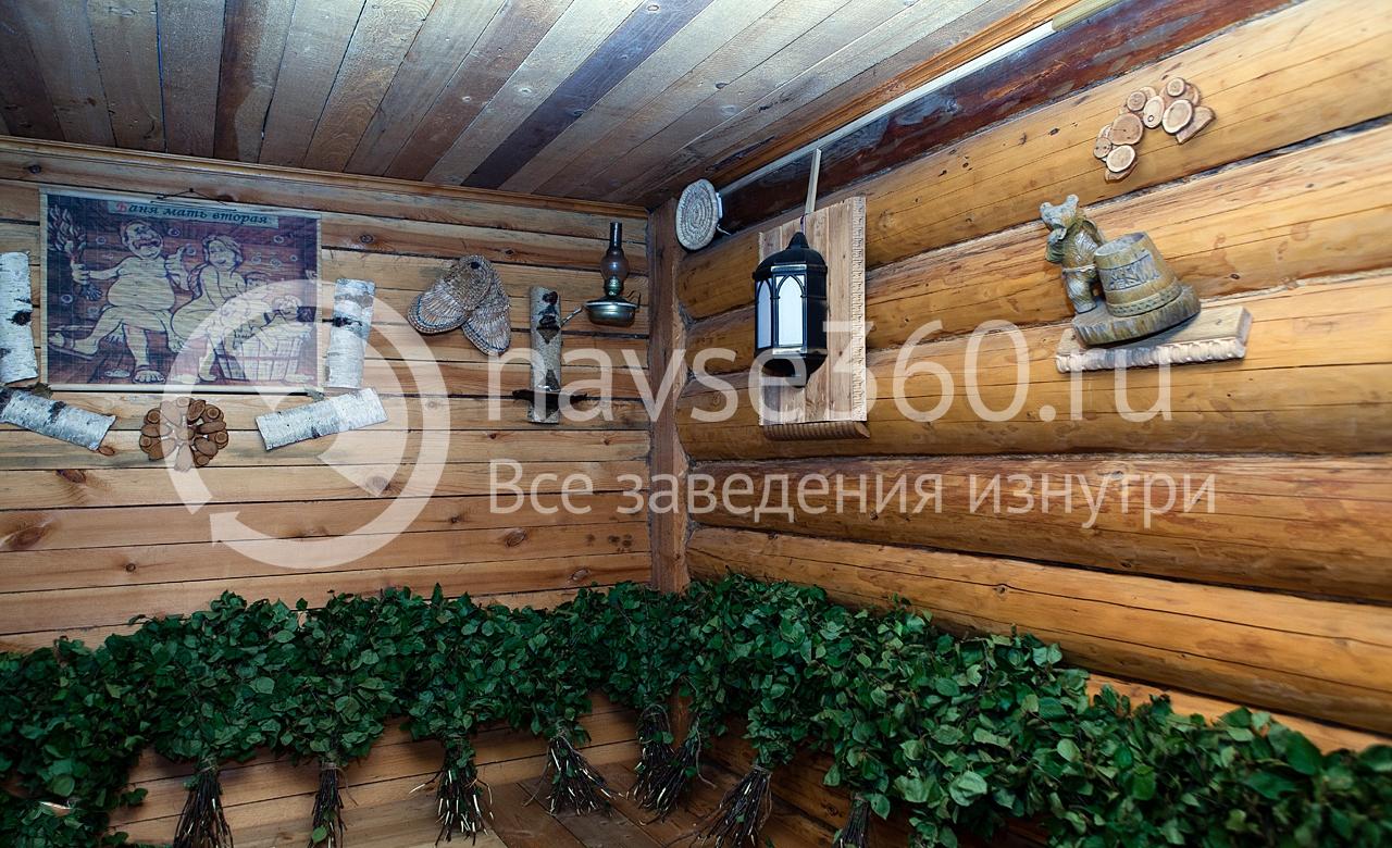 комната отдыха русская баня в Козино