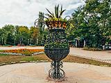 Кованая ваза