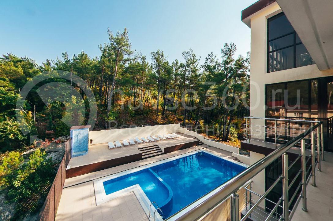 Отель Парк Хаус Дивноморское, бассейн