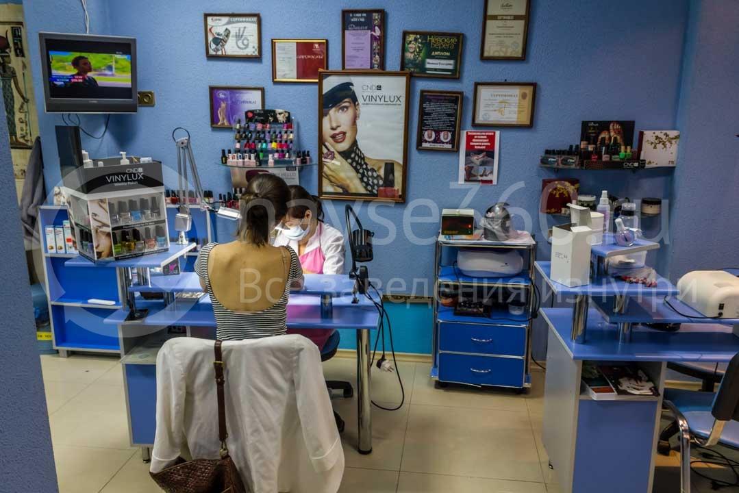 Кабинет ногтевого сервиса в салоне красоты Клеопатра в Сочи