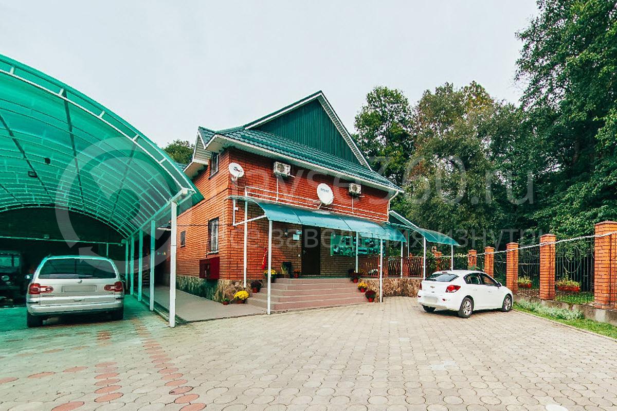 Гостевой дом Турист, хутор Гуамка Краснодарский край, фасад