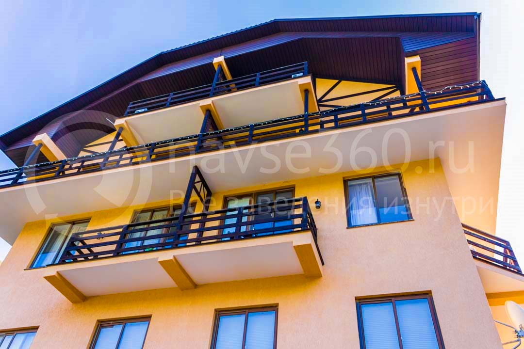 Фасад гостиница Orange Star Сочи