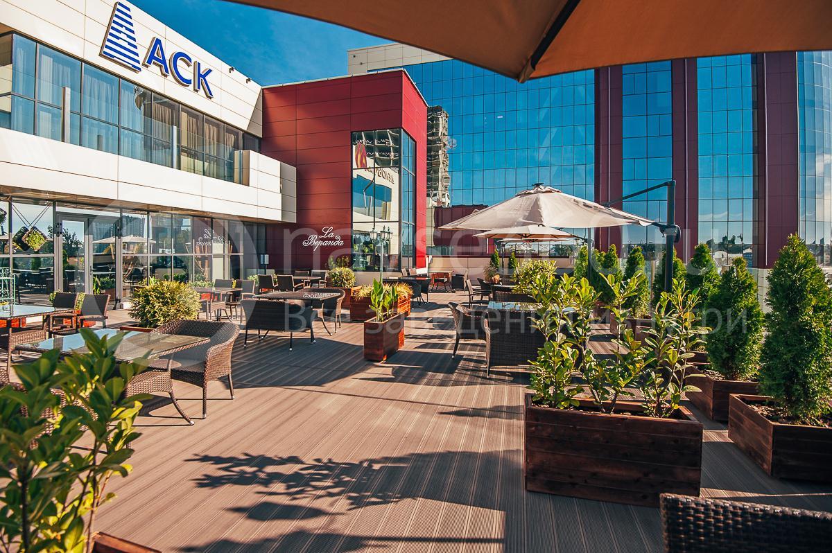 Ресторан La Веранда, ТЦ AVM Краснодар, летняя терраса 4