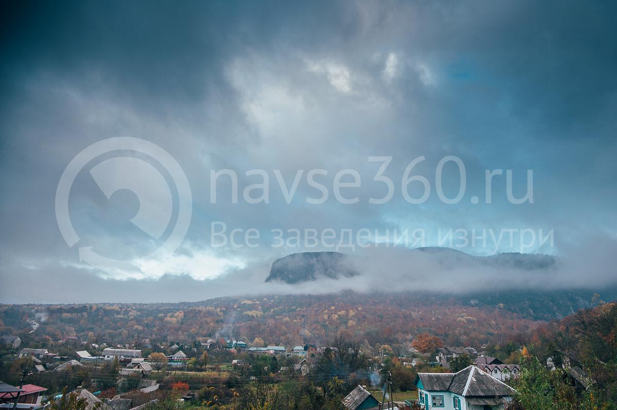 Гостевой дом Эко Дом, Гуамка, вид на горы