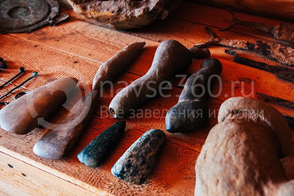 Турбаза Горная Кубань Мезмай, экспонаты 1