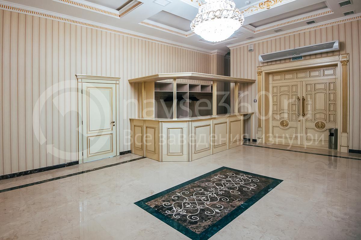 Ресторан, Банкетный зал, Опера палас, Краснодар, холл зала на 250 человек