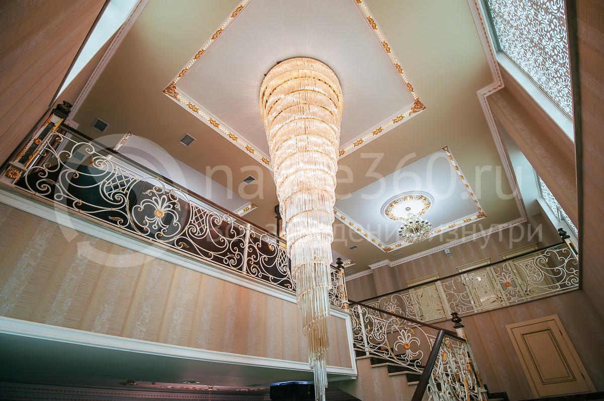 Ресторан, Банкетный зал, Опера палас, Краснодар, люстра второй свет
