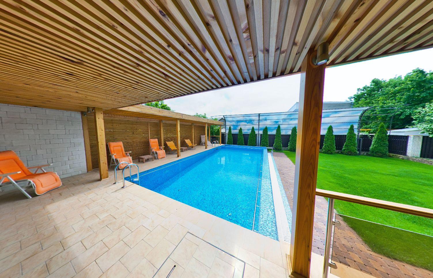 Купить дом в Витязево с бассейном