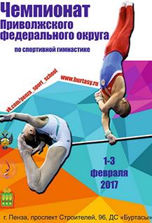 Чемпионат Приволжского федерального округа по спортивной гимнастике