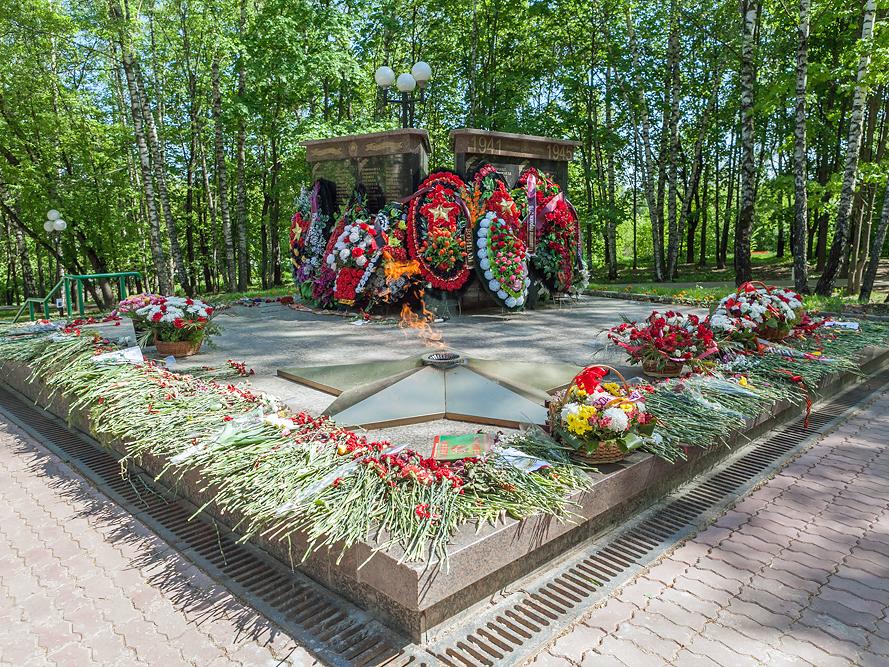 Красная горка, мемориал