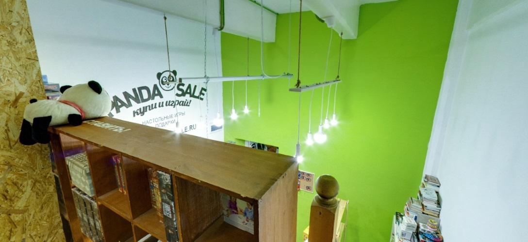 PandaSale, магазин-клуб настольных игр
