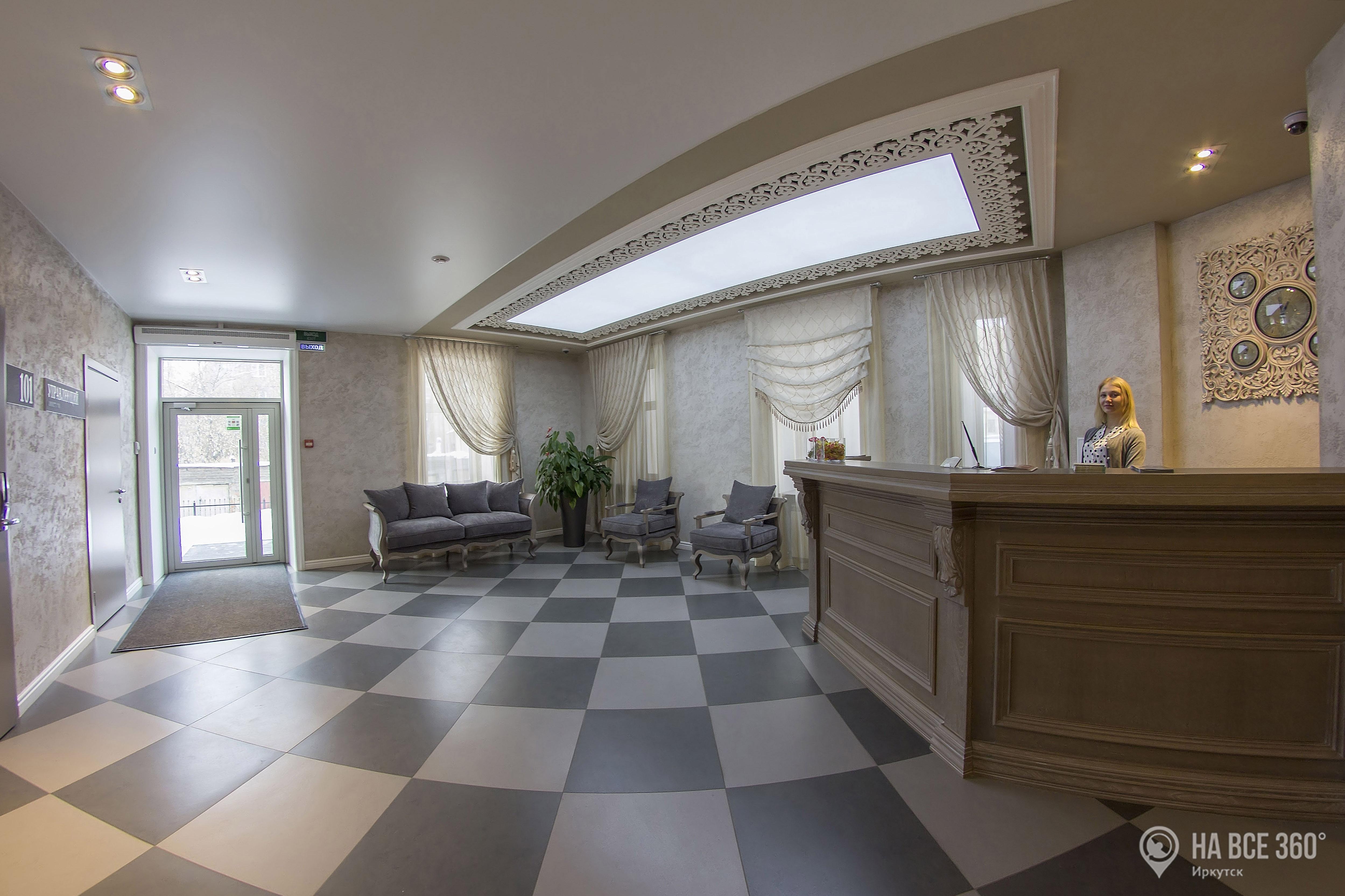 Бизнес-отель Михаил Строгов в Иркутске