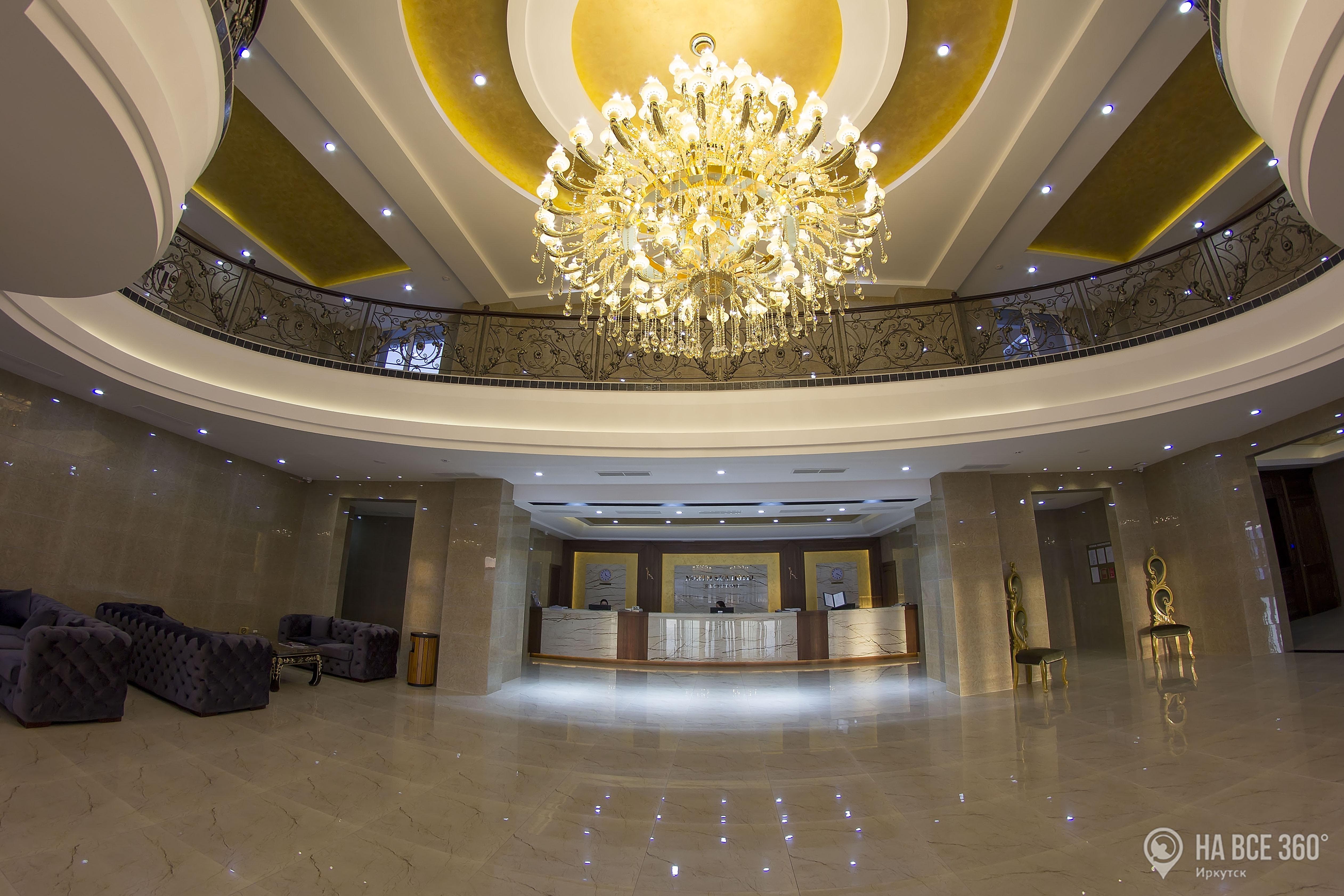 Отель Северное море в Иркутске