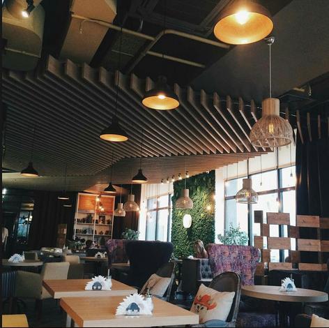 Бинхартс Кофе, кофейня
