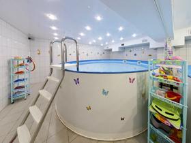 Бульбулька, детский бассейн