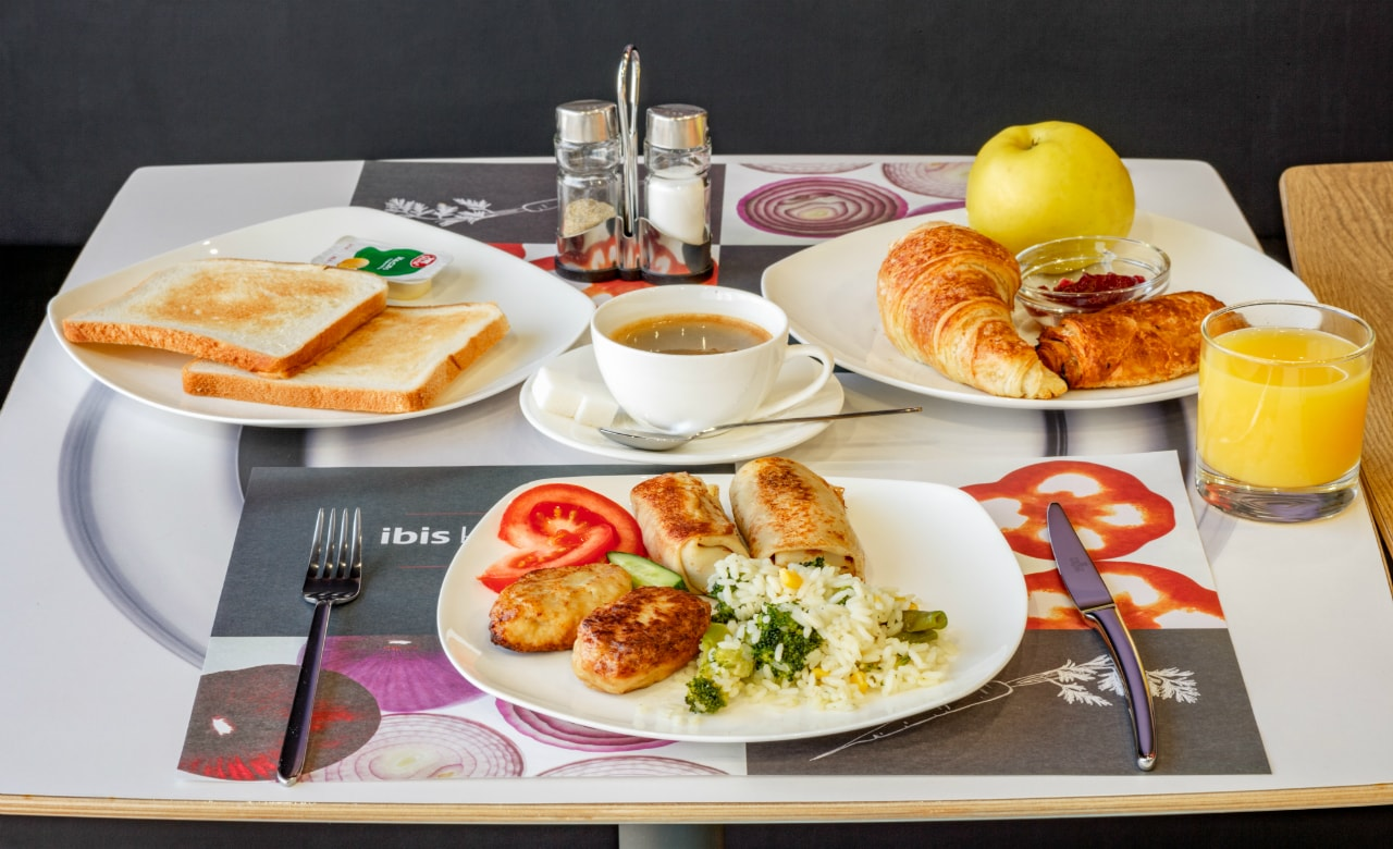 Отель Ibis Краснодар завтрак