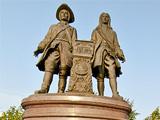 Памятник В.Н.Татищеву и В.И. де Генину
