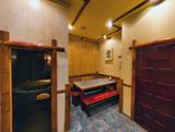 Японский дворик, сауна