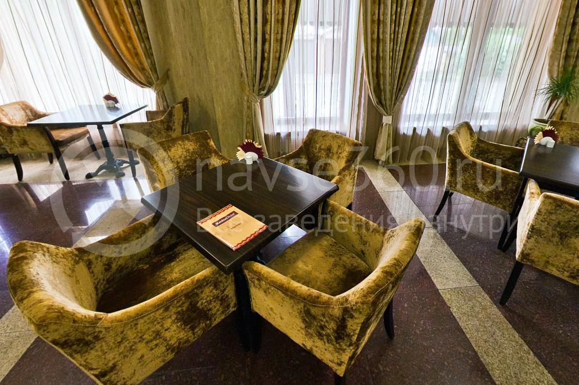 Гостиница Мальдини, Краснодар, лобби бар, столики