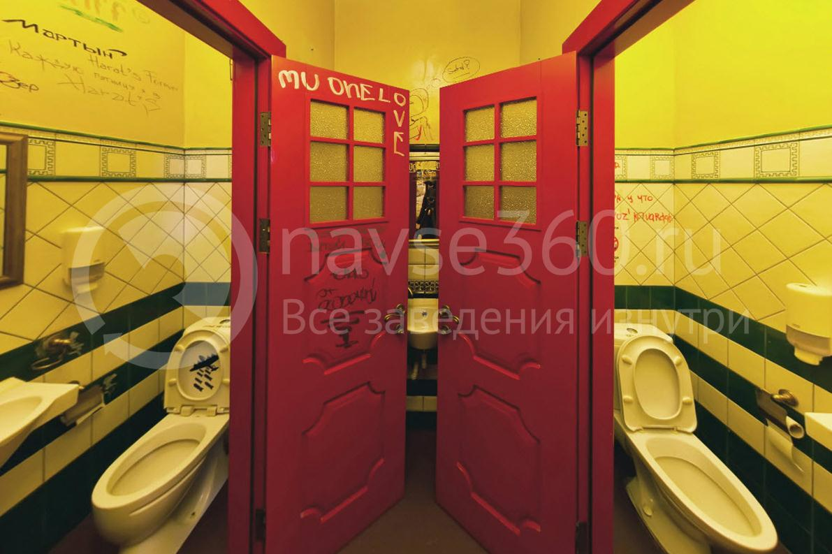 Harat`s Pub, в ФМР, Краснодар, туалет