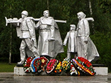 Памятник жителям города, павшим в ВОВ