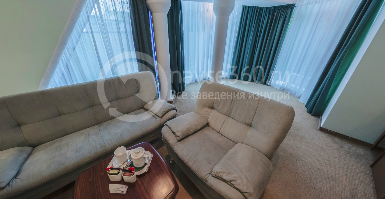 Панорамный люкс гостиная комната