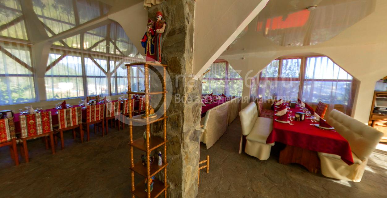 Зимний зал ресторана