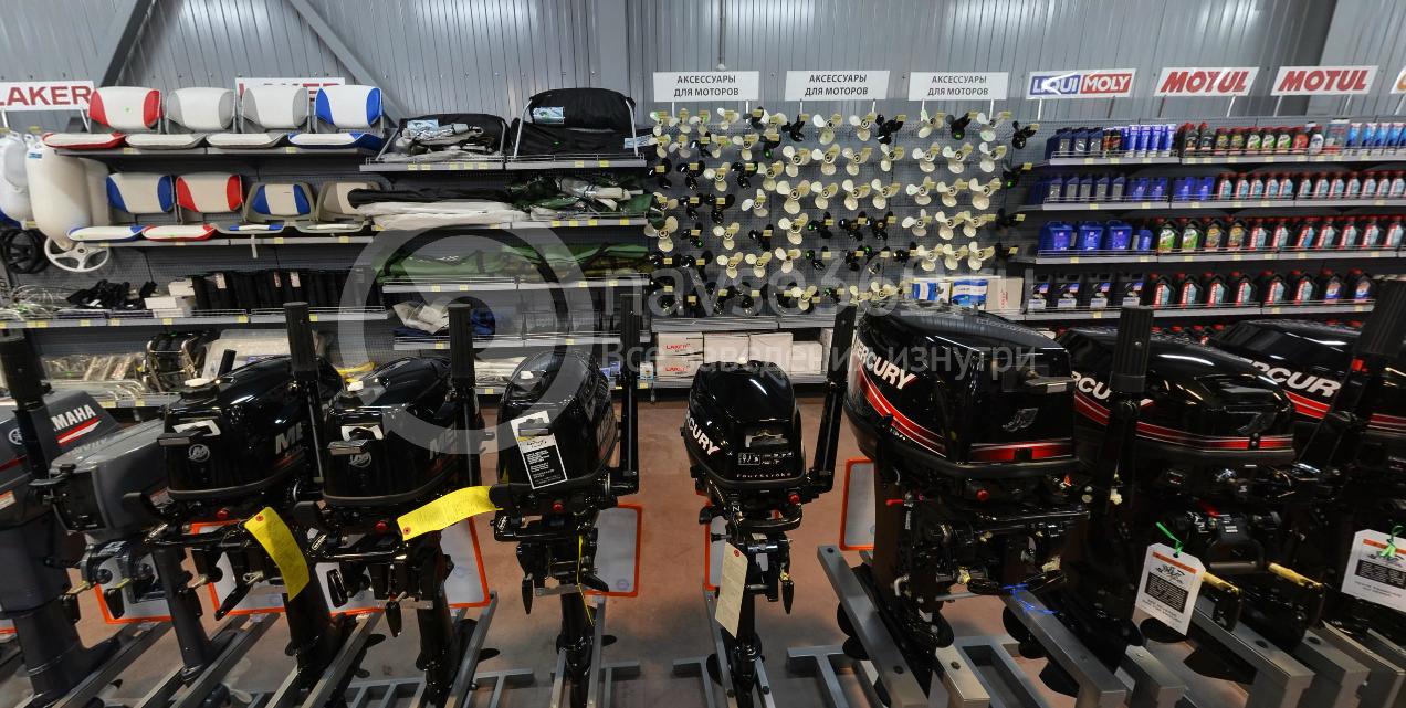 Лодочные моторы в магазине Адреналин