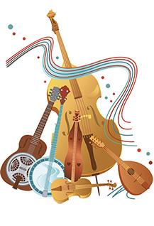 Голоса народных инструментов, фестиваль - конкурс оркестров