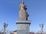 Памятник Маршалу СССР Г. К. Жукову