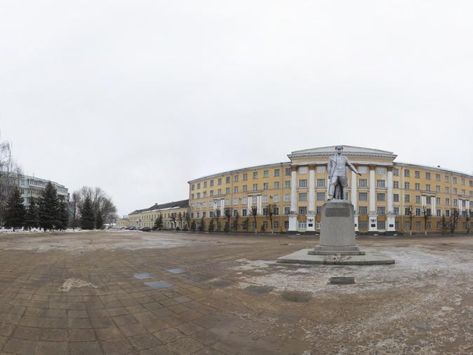 Памятник Г.К. Жукову