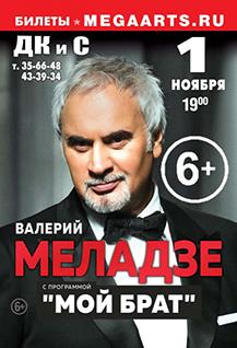 """Концерт Валерия Меладзе """"Мой брат""""."""