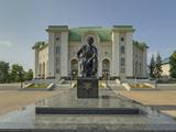 Памятник М. Гафури
