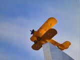 Памятник подвигу летчиков Мытищинского аэроклуба