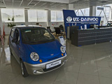 Uz-Daewoo, автосалон