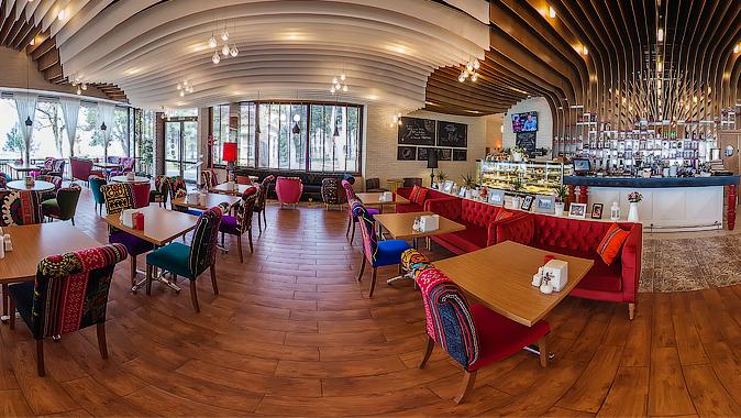 Санта-Фе, кофейня