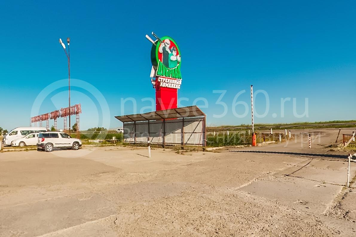 Стрелковый комплекс Дубрава, парковка. фото