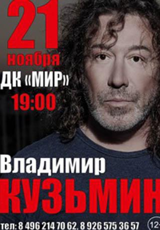 Владимир Кузьмин, концерт